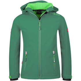TROLLKIDS Trollfjord Giacca Bambino, dark green /light green